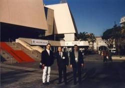 Od lewej: M. Wrona, K. Nepelski, P. Metz