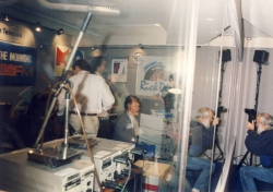 Targi MIDEM- studio radia KIIS FM