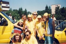 Od lewej: W. Ziemniak, M. Rusinek, R. Staskiewicz (Siwy), Krzysztof, W. Śliwa (Body), T. Sołtys