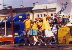Od lewej: M. Kubik, T. Sołtys, M. Rusinek - Piotrków Trybunalski