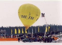 Balon RMF FM pod Wielką Krokwią