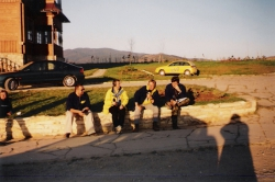 Od lewej: J. Burda, K. Kot, P. Pawlik, P. Płuska