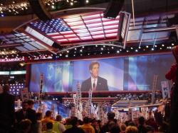 Zakończenie konwencji Demokratów w Bostonie - przemawia John Kerry (29 lipca 2004 r.)