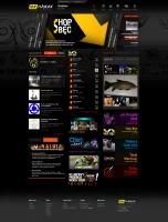 Strona internetowa RMF MAXXX (2009 r.)