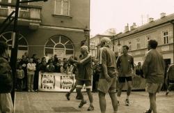 Dziennikarze RMF FM Rzeszów podczas turnieju street ball